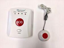 Ancianos OAP pánico Alarma Gsm-dial home de auto cuidado de alerta de seguridad alarma de caída de llamada