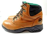 Mens Chuck Taylor Converse All-Star Brown Leather SteelToe Boots US 9D, EUR 42.5