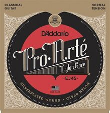 D'Addario EJ45 Pro Arte Classical Strings - Normal Tension. Superior Quality
