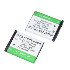 2 Pack LI-42B LI-40B LI42B LI40B BATTERY FOR OLYMPUS FE-230 FE-240 CAMERA