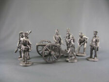 EKC 54 MM RUSSIAN 6 POUNDER GUN AND CREW 1807-1812