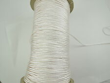 10 Meters of Red Rattail Satin String Cord Jewellery KUMIHIMO Shambala 2mm