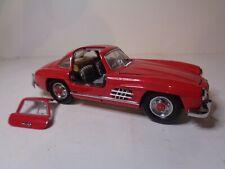 Franklin Mint 1:24 scale 1954 Mercedes Benz 300SL Bright Red Door Detatched :(