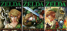 DHL 3-7 Days to USA The Legend of Zelda Twilight Princess 1-3 Set Japanese Manga