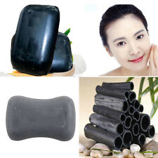 Natural Bamboo Making Black Soap  Rnergy Skin Bleaching Soap Healthy Care
