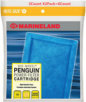 Marineland Penguin Rite-Size Cartridge B Bio-Wheel Power Filter (6 Count)