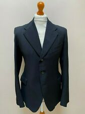 Vintage black 1930's three button jacket size 40 long