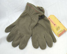 1816 Remington Conductive Touch Screen Compatible Fleece Olive Plush Gloves XL
