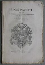 Gioco del lotto - Piemonte. Anno 1820