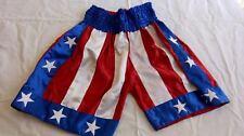 USA Flag Boxing Trunks Training Fitness Shorts Boxing Shorts Martial Arts Lrg