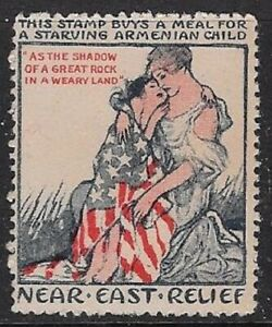 USA 1930s Cinderella: Meals for Starving Armenian Child-Near East Relief- dw33.3