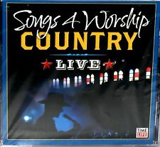 Songs 4 Worship: Country Live NEW! CD,ALISON KRAUSS,RANDY TRAVIS,ALABAMA,SKAGGS