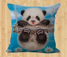 panda cushion cover home decoration cover throw pillows throw pillow slip covers