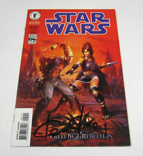 Star Wars Prelude to Rebellion #5 Signed by Ken Kelly! DARK HORSE COMICS 1999 NR