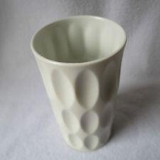 Hutschenreuther OP ART Design-Vase FUCHS weisses Porzellan matt 15cm Top RAR!