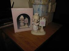 Precious Moments 1987 Members Only Loving You Dear Valentine Girl In Box