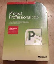 Microsoft Project 2010 professional DVD