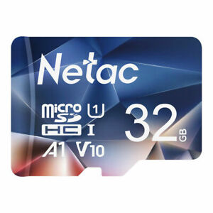 Netac Micro SD Card 32GB Class 10 SDHC Memory Card TF Card for Smartphone Tablet