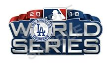 Los Angeles Dodgers 2018 World Series Decal / Sticker Die cut