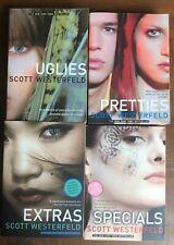 Scott Westerfeld UGLIES Series Set Extras Pretties Specials