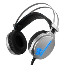 Gaming Headset With Mic 7.1 Surround Sound LED Headphones for PC Mac Laptop PS4