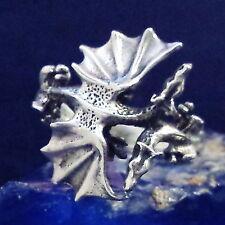 Dragon Bague Argent 925 Gothique Latex Dragon 5 Silver