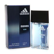 ADIDAS MOVES HIM 1.0 oz / 30 ml EDT Spray Men NEW IN BOX