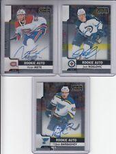 17/18 OPC Platinum Winnipeg Jets Jack Roslovic Rooke Auto RC card #R-JR