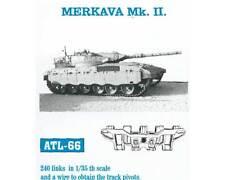 1/35 FRIULMODEL ATL-66 METAL TRACKS FOR MERKAVA Mk. II for ACADEMY Kit PROMOTE