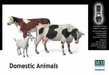 MB Masterbox - Dometic Animali animali 2 Mucche + 1 Capra Kuh Modello Kit - 1:35