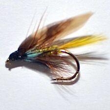 24 Traditional Irish & Welsh Wet Fishing Flies by Dragonflies