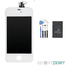 iPHONE 4S DISPLAY EINHEIT TOUCHSCREEN RETINA LCD GLAS SCHEIBE WEIß WERKZEUG SET