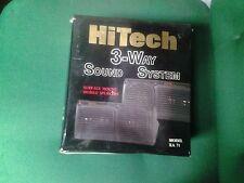 Hi-Tech 3 Way Surface Mount Speaker System (Model XA 71)
