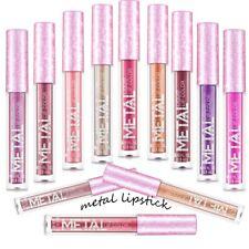 Metallic Shinny Waterproof Lip Gloss Long Lasting Glitter Liquid Lipstick Makeup