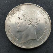 Belgium 5 FR Leopold I 1850 (Zilver / Argent)