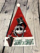 NWT Nightmare Before Christmas Santa Hat Jack~Scary and Bright Tim Burton