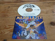 ED BANGER RECORDS - MAJOR LAZER - Free The Universe  !!!!!!RARE CD PROMO