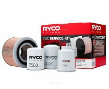 RYCO Oil Air Fuel Filter Service Kits NISSAN Patrol TD42T Turbo up to 2005
