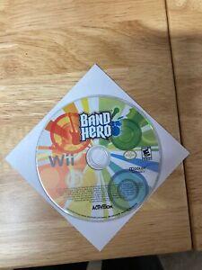 Band Hero Nintendo Wii Tested & Working Great!