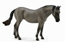 DELUXE 1:12 SCALE LUSITANO GREY MARE - HORSE MODEL by COLLECTA 88694