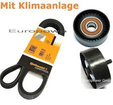 Keilrippenriemen-Satz+Spannrolle BMW E46 E81 E83 E85 E87 E90 E91