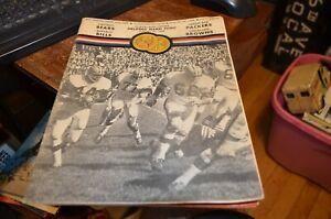 August 30, 1969 Cleveland Browns Doubleheader Program, Packers, Bears, Bills