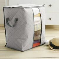 Large Capacity Dust-Proof Clothes Storage Bag Clothing Pillow Quilt Organizer ^D