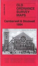 MAP OF CAMBERWELL & STOCKWELL 1894