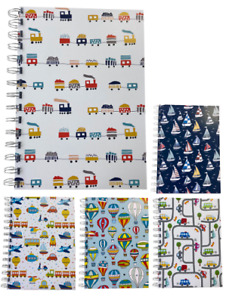 Various Premium Travel Print A5 Lined Notepads 80gsm 70 Sheets