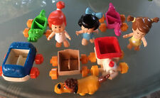 New ListingLot 9 Hanna Barbera Flintstones Assorted Collectibles Vehicles People Pet 1986