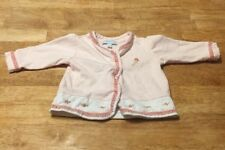 Le Top Baby Cardigan Sweater Embrodiered Floral Pink 3m Preowned