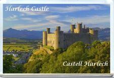HARLECH CASTLE, CASTELL HARLECH, WALES, CYMRU FRIDGE MAGNET