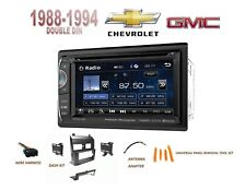 "CHEVY GMC SUV/ Full Size Trucks 1988-1994 Car Stereo Kit 6.2"" LCD TOUCHSCREEN"
