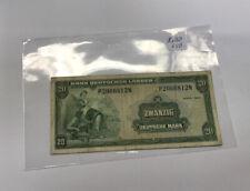 BRD 20 marcos alemanes bank note 1949 ro 260